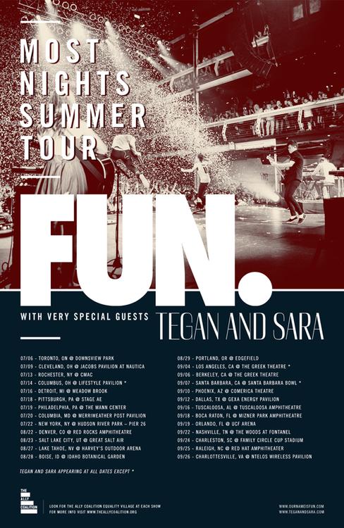 Fun Most Nights Summer Tour