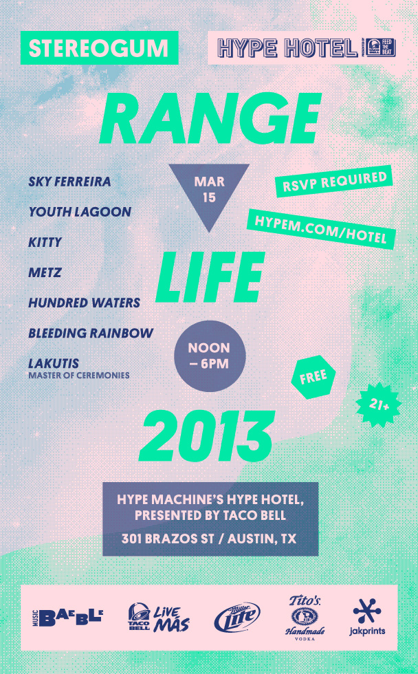 stereogum-range-life-sxsw-2013-day-party-lineup