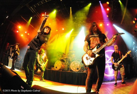 Antrax, Slash, and Chuck D at House of Blues
