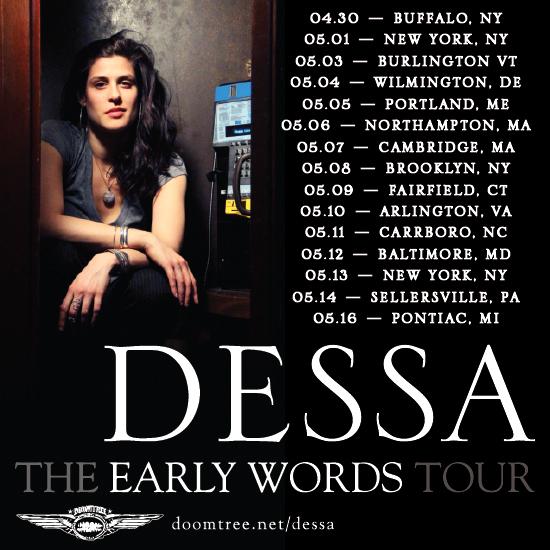 Dessa 2013 Tour Dates
