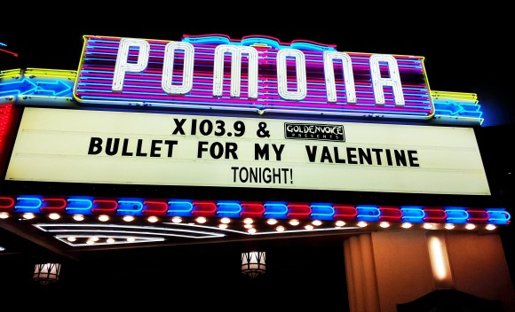 B4MV & Halestorm at The Fox in Pomona
