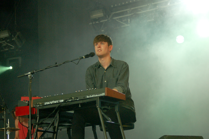 James Blake on day 3