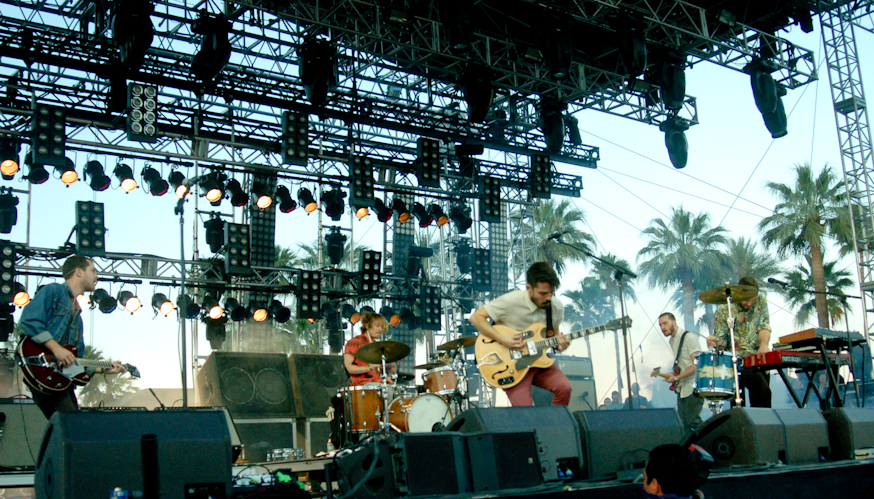 Local Natives at the Outdoor Theatre Stage
