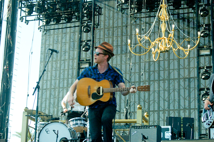 The Lumineers had one of the largest singalongs of the weekend
