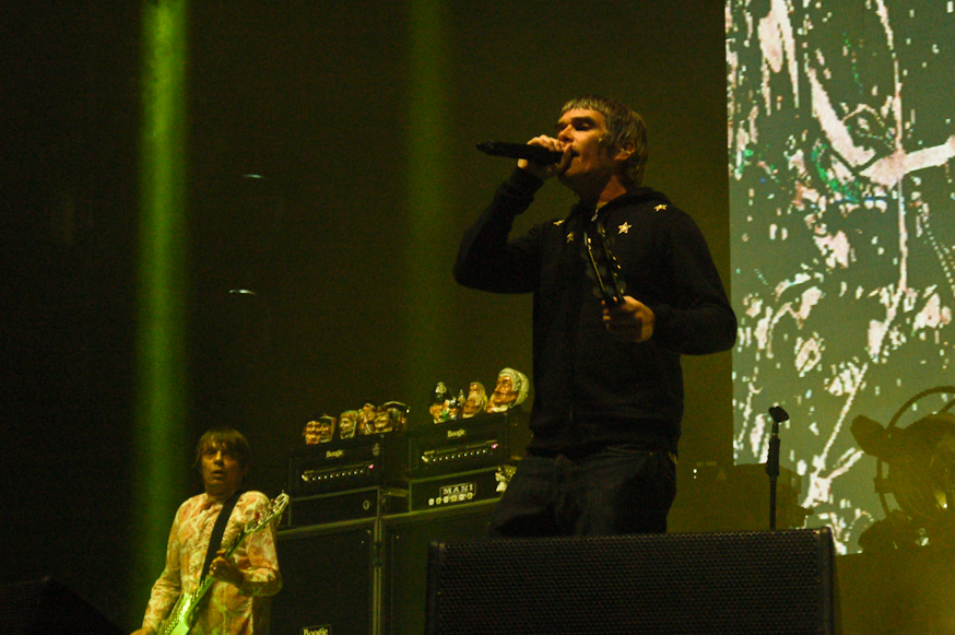 Ian Brown of the Stone Roses at the Main Stage