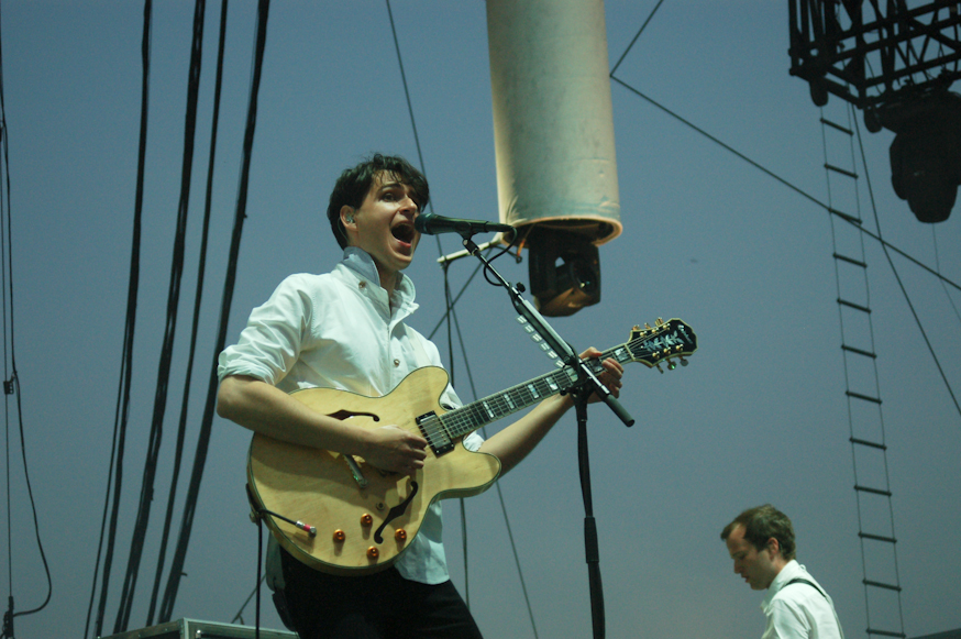 Vampire Weekend had one of the best sets of the festival