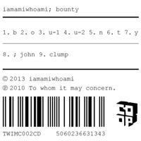 iamamiwhoami-bounty