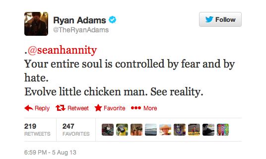 Twitter Ryan Adams 1