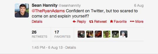Twitter Sean Hannity 1