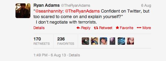 Twitter Ryan Adams 3