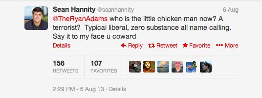 Twitter Sean Hannity 2