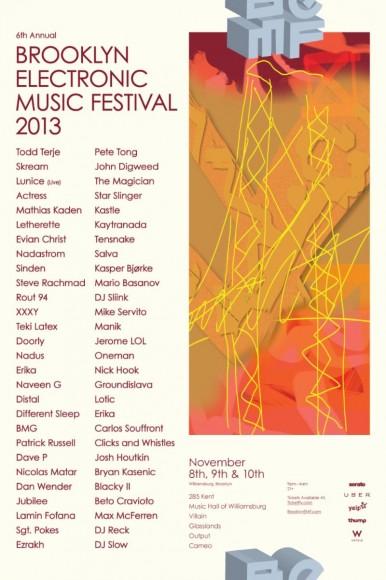brooklynElectronicMusicFestival2013