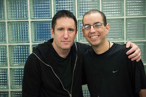 Andrew Youssef and Trent Reznor