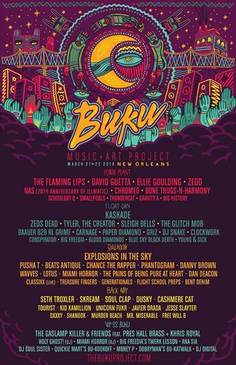 Buku Music and Art Festival 2014 Revised