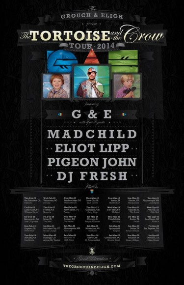 Grouch & Eligh Tour 2014 Flyer
