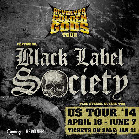 Black Label Society flyer