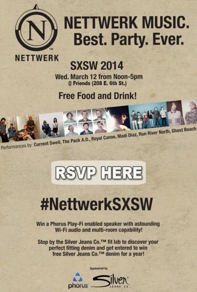 Nettwerk Music Presents Best. Party. Ever. @ SXSW 2014 ft. Ghost Beach