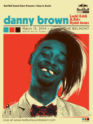 Red Bull Sound Select 4 Days In Austin SXSW 2014 Day 4 ft. Danny Brown