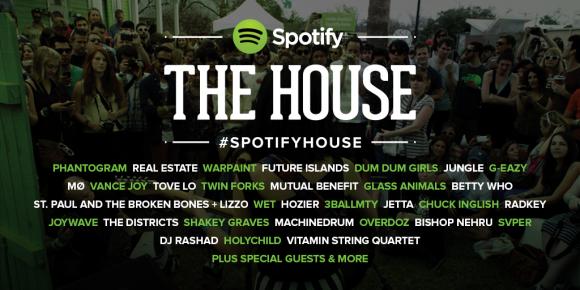 Spotify House SXSW 2014