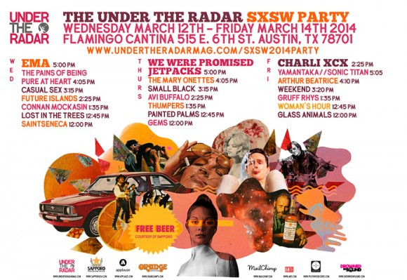 Under_the_Radar_SXSW_2014_Party_Poster_Lineup_Charli_XCX_EMA_Future_Islands