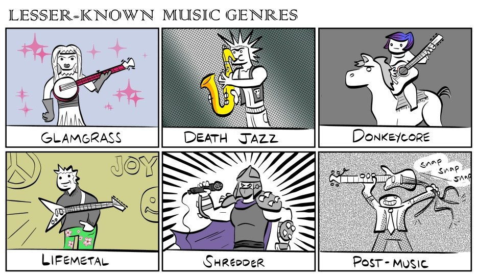 lesser-known music genres
