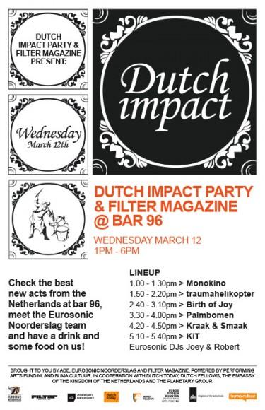 Filter x Dutch Impact @ SXSW 2014 ft. Monokino, KiT