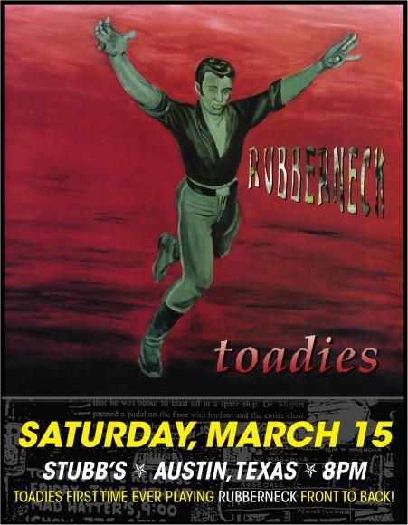 toadies flyer
