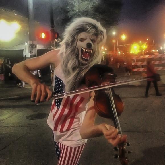 violin monster