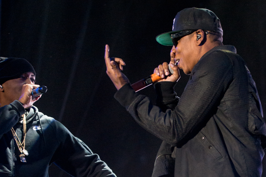 Jay Z making a guest appearance with Nas.