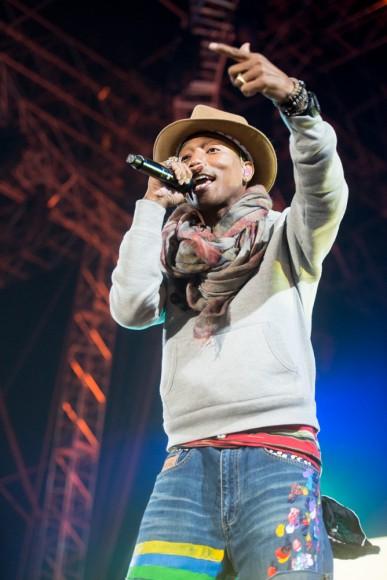 Coachella2014-Pharrell Williams-2