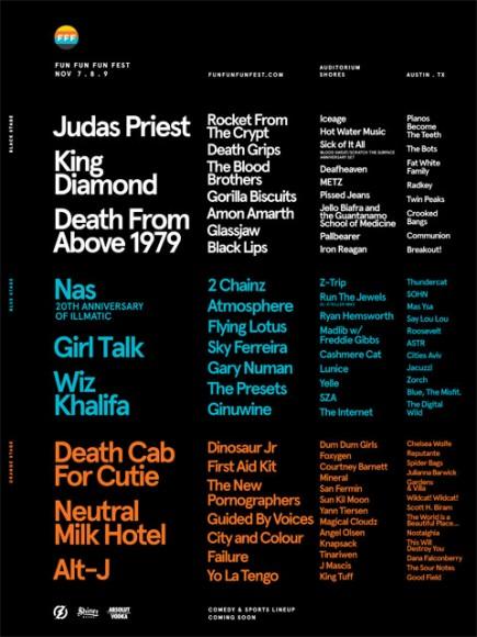 Fun Fun Fun Fest Announces 2014 Lineup Including Judas