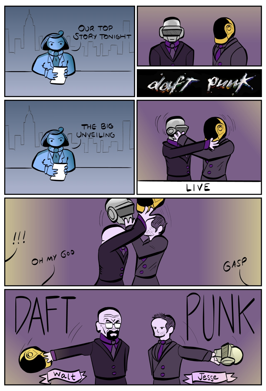 the daftest punk of all --- friendship