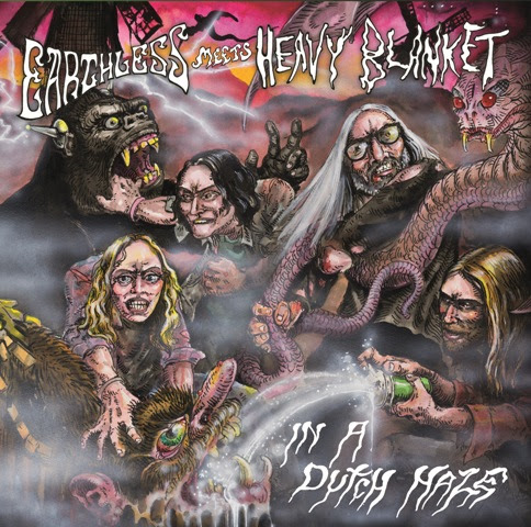 heavy blanket & earthless in a dutch haze album cover