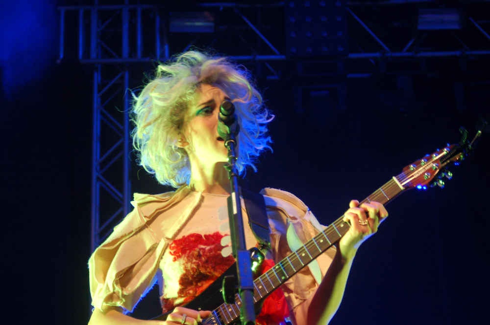 "WATCH: St. Vincent Covers ""Groove Is In The Heart"""