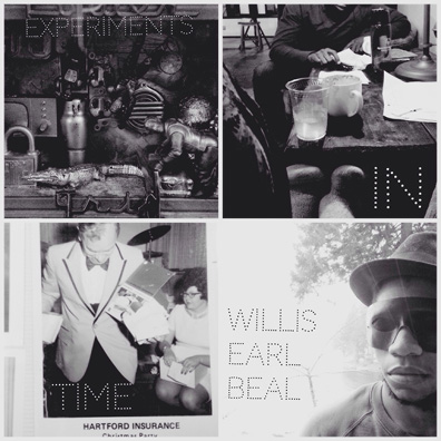 Experiments in Time album cover. The photos come from Beal's wife's Instagram account.