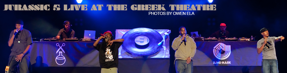PHOTOS: Jurassic 5, Live at the Greek Theatre