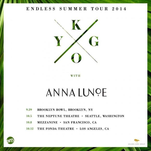 Kygo & Anna Lunoe