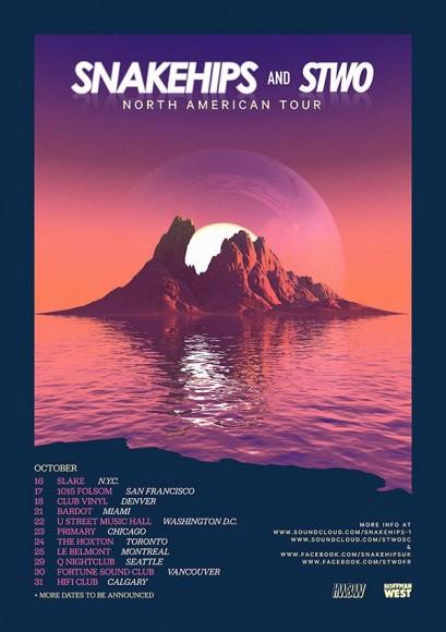 Snakehips_NA-Tour_Poster