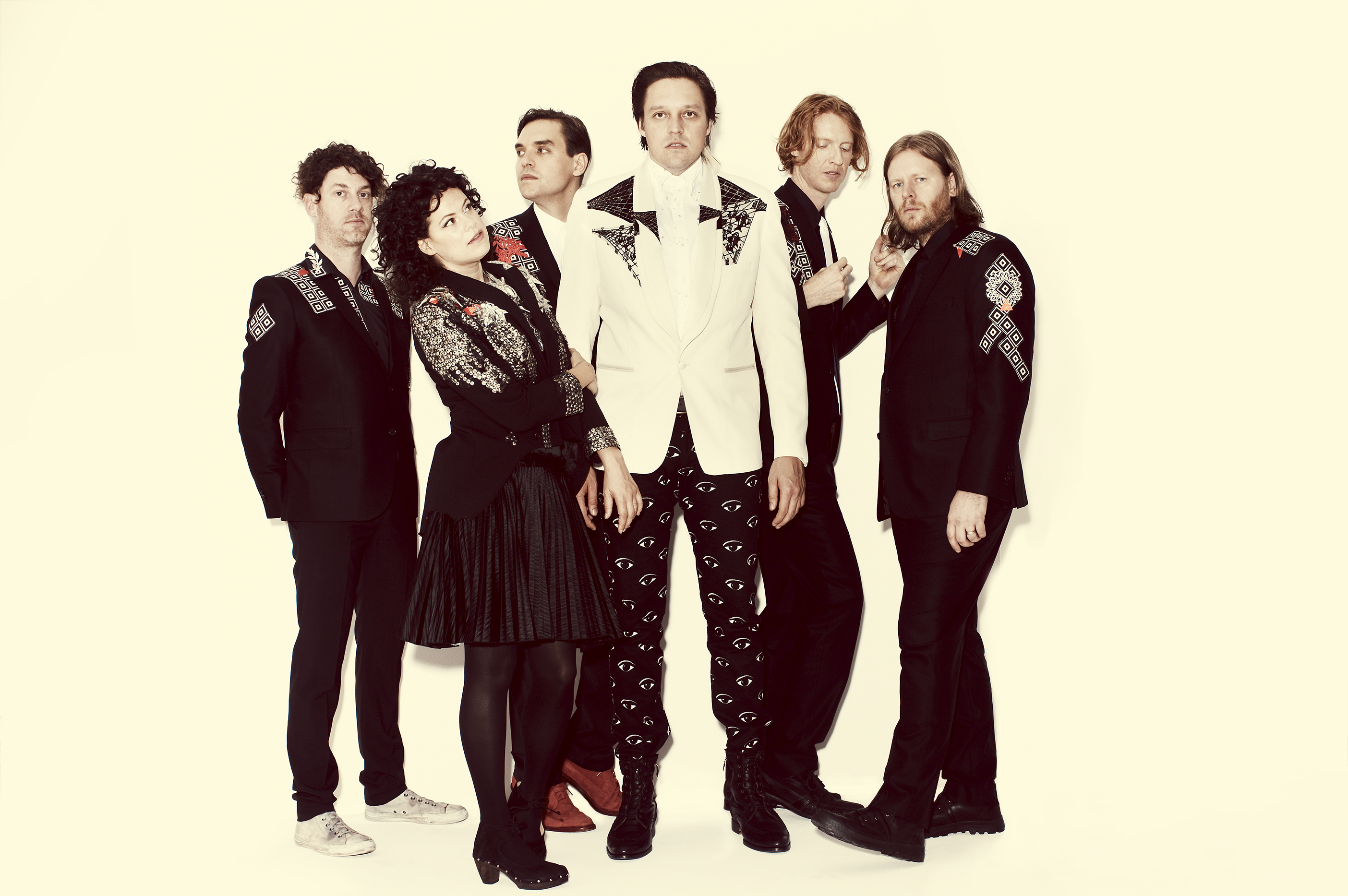 Arcade Fire The Strokes And Bon Iver Members Play