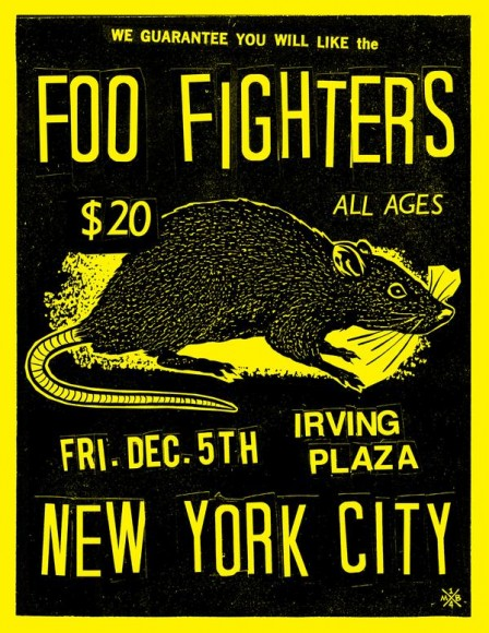 Foo Fighters Irving Plaza