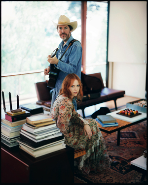 Dave Rawlings & Gillian Welch; Press Photo by Mark Seliger