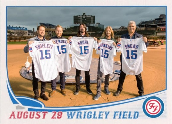 Foo Fighters confirm Wrigley Field 2015 tour date