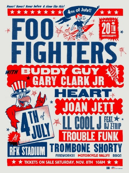 foo fighters july 4