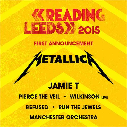 Reading/Leeds 2015 Festival Flyer