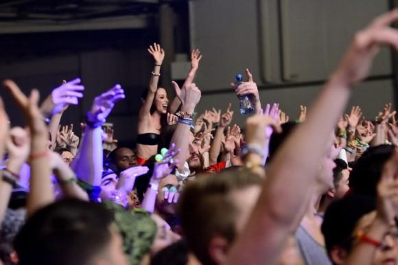 Amazing crowd at lights all night