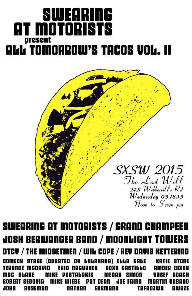 All Tomorrow's Tacos volume II