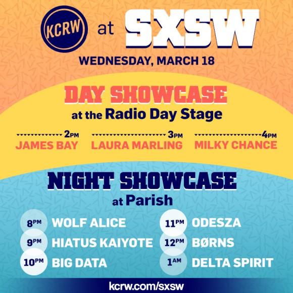 KCRW SXSW 2015 Showcase