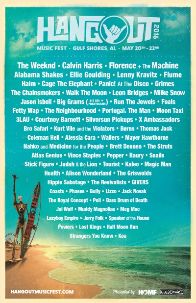Official Hangout Festival Line-Up