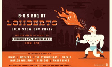 B&Q'S BBQ SXSW 2016 Day Party Announced