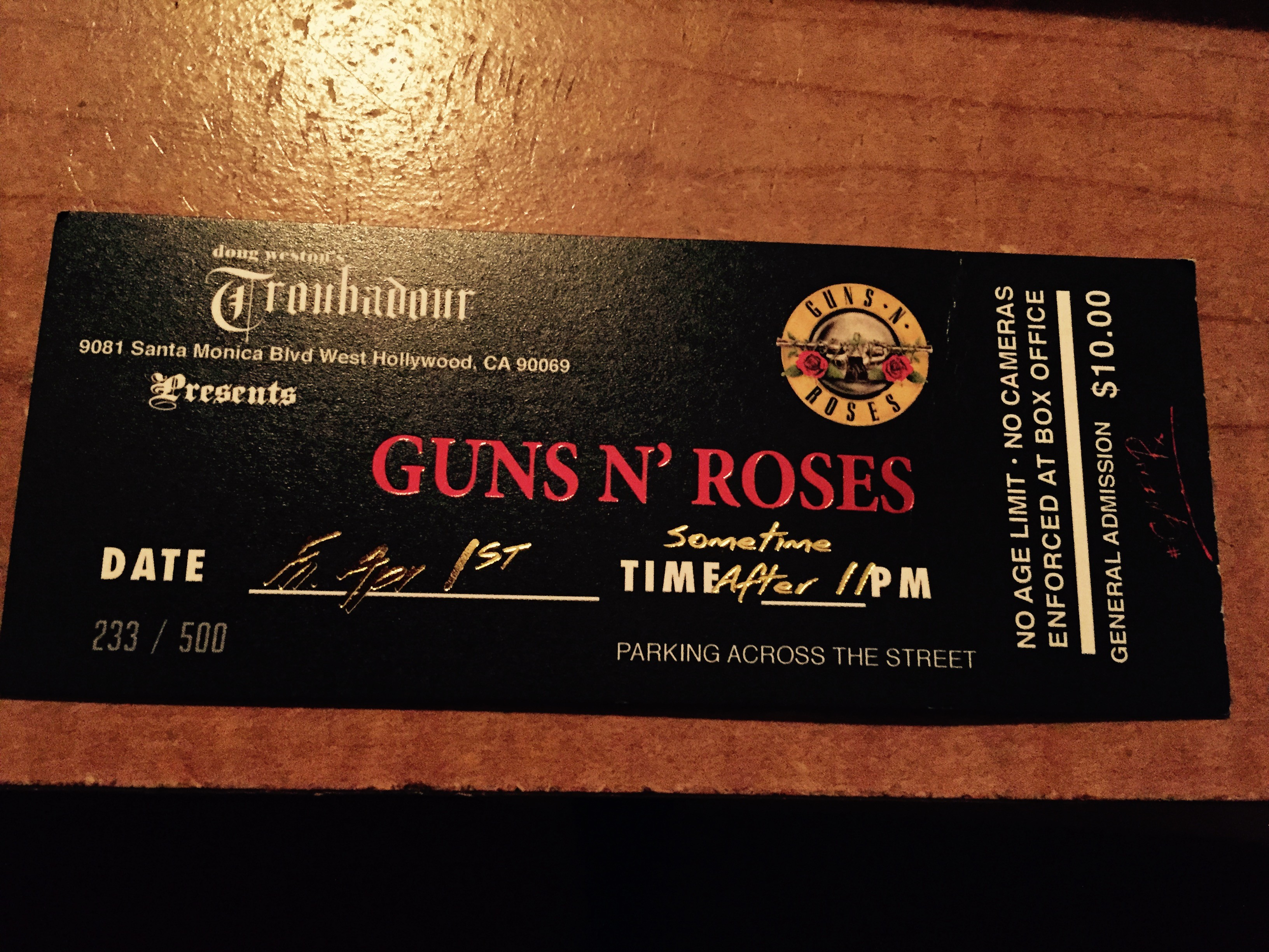 Guns and roses review